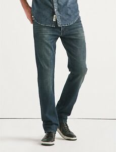 Slim Jean 121 Lucky En Homme Lobos 7md10123 Délavé Fit Brand Point Zxfqt
