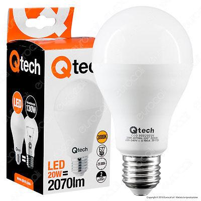 LAMPADINE LED V-tac E27 E40 20W a 100W Lampada Faretto Giardino Lampioni Campane