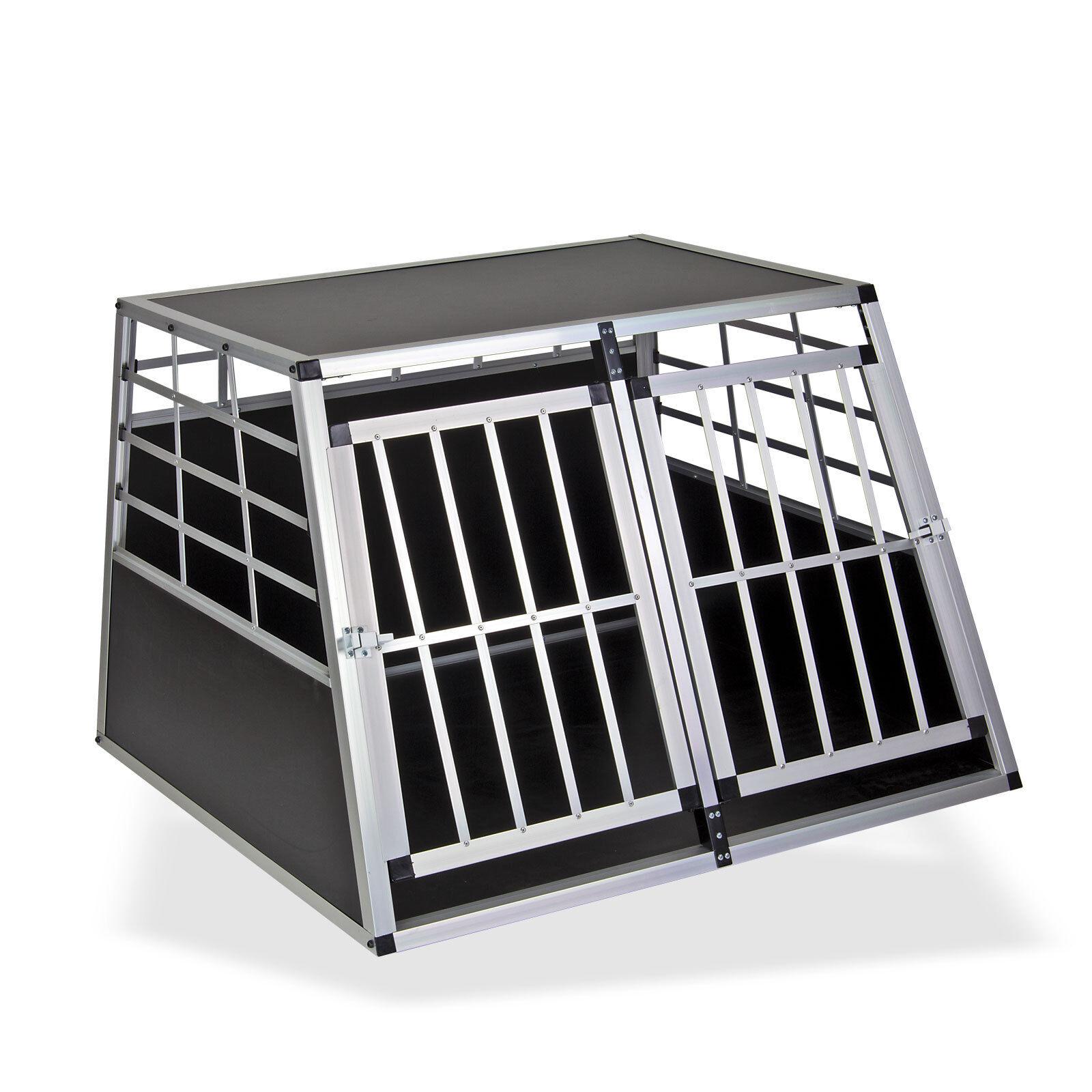 Hunde-Transport-Auto-Box Hund Hund Hund Reisebox XL Aluminium Balu 924339 51f24b