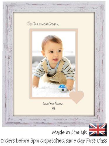 Mamie Cadre Photo Portrait spéciale 6x4 Granny 1118 F