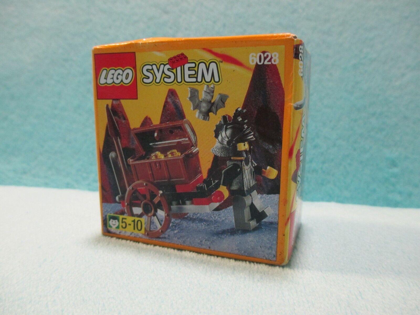 El nuevo sello de Lego, un paquete de 6028 Knights Boys.