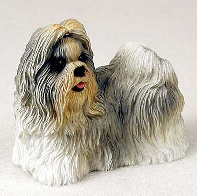 Shih Tzu Hand Painted Collectible Dog Figurine Mixed