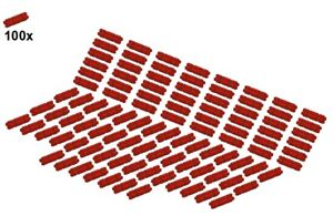 LEGO-Technic-Small-Parts-Axles-32062-01-Laenge2-100Stk-Achse-Rot