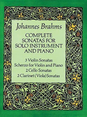 Complete Sonatas for Solo Instrument and Piano (Viola Sonatas) by Brahms, Johan