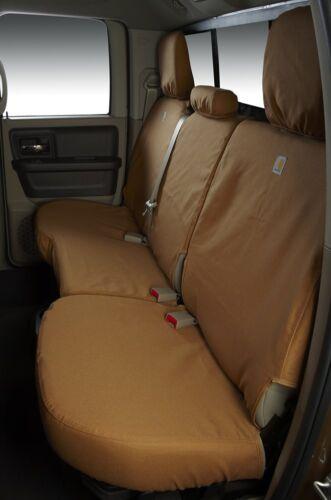 Front Row Covercraft Custom SeatSavers Carhartt Duckweave 2 Color Options