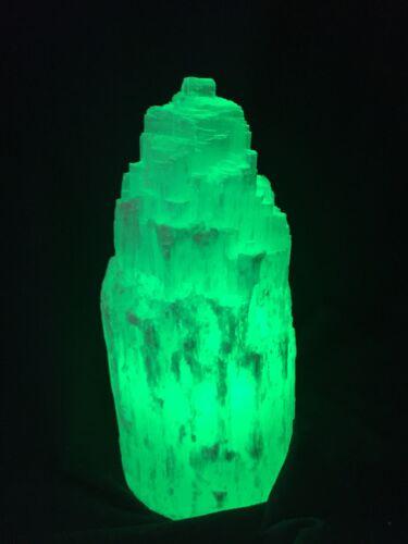 Selenite Lamp And Cord LED Multi Color Lamp Selenite Tower Lamp Gypsum Lamp Heal