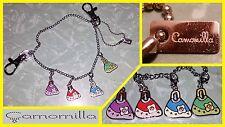 Bracciale Camomilla borse (regalo Natale braccialetto catena catenina ciondolo)