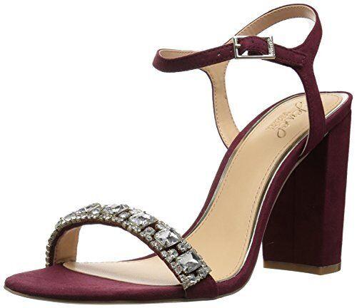 Jewel Badgley Mischka Femme Hendricks à à à talon sandale-Choix Taille couleur. 049125
