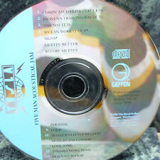 MUSIC CD:  FIVE MAN ACOUSTICAL JAM, VG CONDITION, FREE SHIPPING, NO INSERT