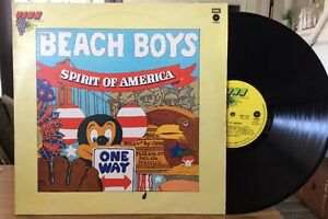 The-Beach-Boys-Spirit-Of-America-Compilation-U-K-Pressing-1975-VG