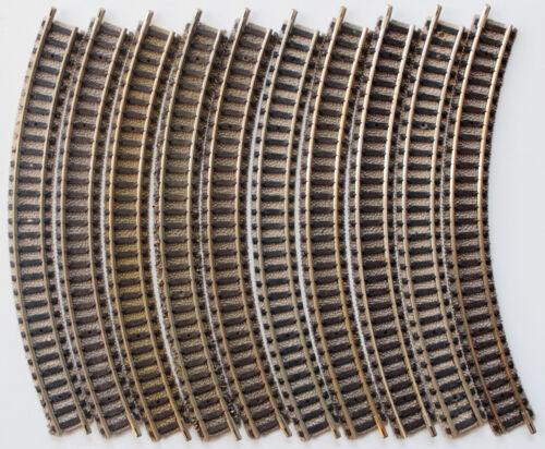 Fleischmann 9120 Spur N gebogene Gleise 10 Stück
