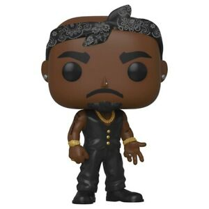Funko POP Vinyl Rock New!!! Tupac black vest  #158