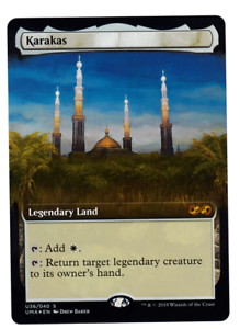 MTG Magic the Gathering - Karakas - - - Foil - UMA Box Topper 7c97fd