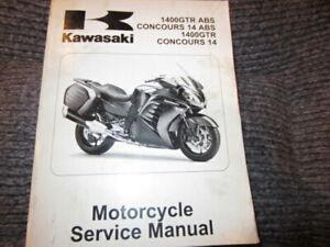 Kawasaki 2010 Concours 14 Service Manual