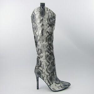 stivali-donna-pitonati-lucidi-pitone-serpente-tacco-spillo-10-punta