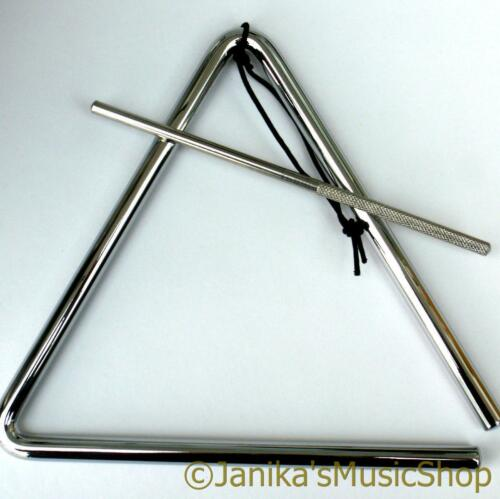 NEW 7 INCH TRIANGLE SCHOOL GROUP BAND PERCUSSION KIDS