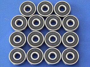 15-pieces-626-2RS-6x19x6-mm-Roulement-a-bille-Roulements-a-billes-miniatures