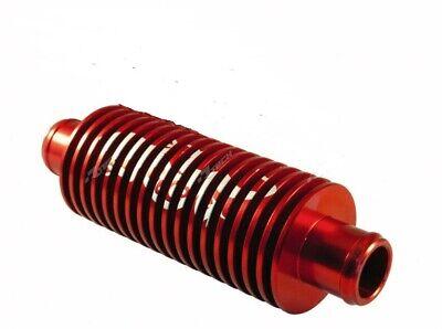 351246 Dissipatore di calore rotondo 15 alette rosso