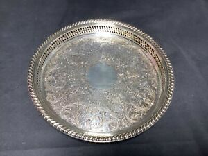 WM-Rogers-671-Silver-Serving-Plate-Tray-Reticulated-12-034-Spring-Flowers
