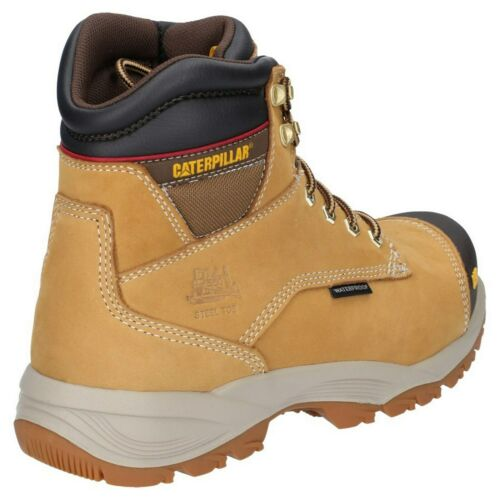 CAT Caterpillar Spiro Safety Boots S3 Waterproof Steel Toe Mens Work Shoes