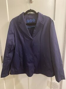 Smartpak-Piper-Softshell-Show-Coat-XXL-Navy-NWT-NEW-Equestrian-English