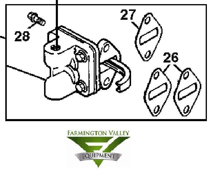John Deere LT133 LT150 LT155 LT160 LTR155 Fuel Pump Kit AM133627 New on