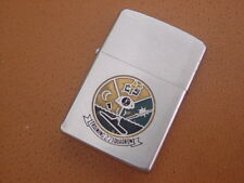 Vintage Zippo Military Lighter ... Training Squadron 27 .... Pat. 2517191