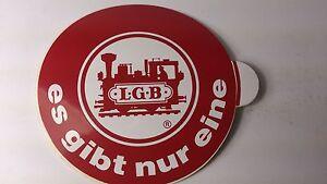 * Original LGB 8.5 cm Diameter Window Sticker 04 - es gibt nur eine (PL)