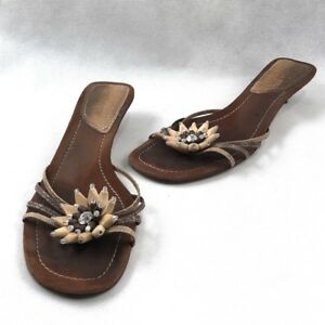 464f4582d24 Enzo Angiolini Merci Women s Shoes Dark Brown and Natural Snake Skin ...