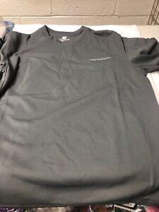 New-Balance-Mens-Athletic-Shirt-Reflective-Logo-Active-Tee-GREY-Small