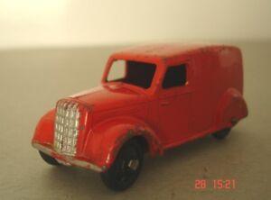 Fourgon de livraison Dinky Toys - Commercial d'après-guerre 280, version rouge