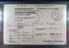 Camp Stalag VIIA Moosburg 1941 POW Prisoner France Kriegsgefangenenpost K75d