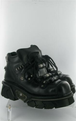 Size New Emo 9 Reactor Anatomical Boots Rock Uk Sole Black Ifw0rxwq7