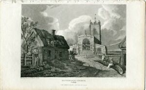 Blythburgh-Church-IN-Suffolk-Engraving-1813-By-Owen-over-A-Drawing-Of-J-P-Nea