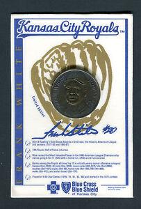 Details about Frank White Kansas City Royals Blue Cross Blue Shield Promo  Coin jhcc