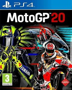 MotoGP 20 PS4 PLAYSTATION New and Sealed