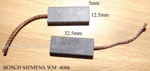 Bosch /& Siemens Lavado Batidora escobillas de carbón 5X12.5X32 código 4006 Par Nuevo-B2