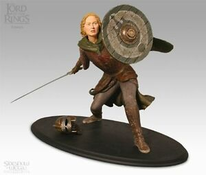 LOTR-SideshowWeta-EOWYN-statue-Customized-Battle-Damaged-RARE