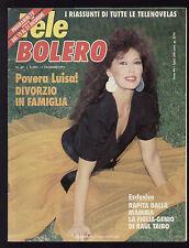 TELE BOLERO 50/1991 CRISTINA D'AVENA TARTARUGHE NINJA BIM BUM BAM MANUELA UAN