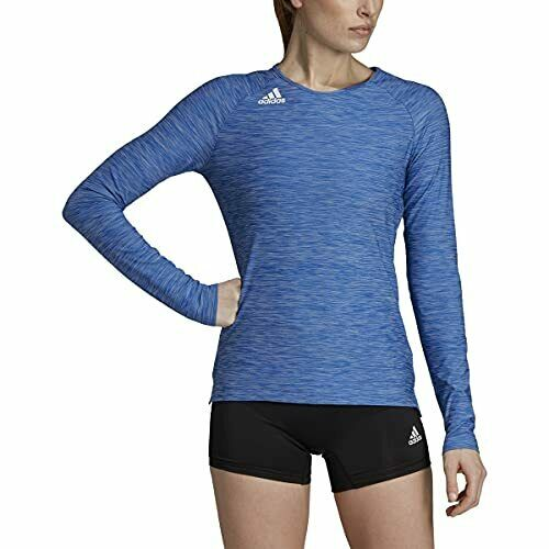 adidas Volleyball Hi Lo Blue Long Sleeve Jersey Shirt 2xs for sale ...