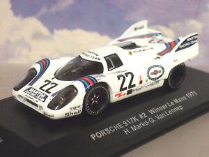 Ixo-1-43-Martini-Porsche-917k-22-Gagnant-le-Mans-1971-Marko-Van-Lennep-Lm1971
