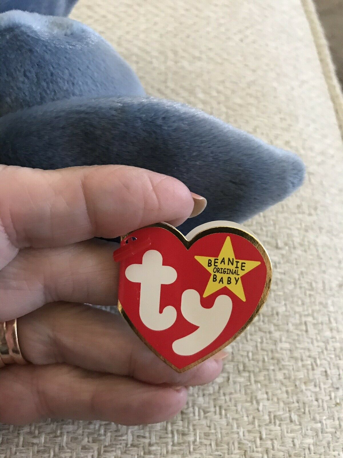 Ty Beanie Baby, Baby, Baby, SCOOP The Pelican, RETIRED, 1996,  RARE 3d4683