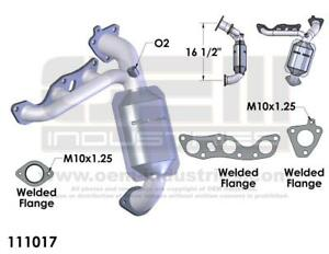 EPA-Exhaust-Manifold-with-Integrated-Catalytic-Converter-Fits-2001-2002-Mercury