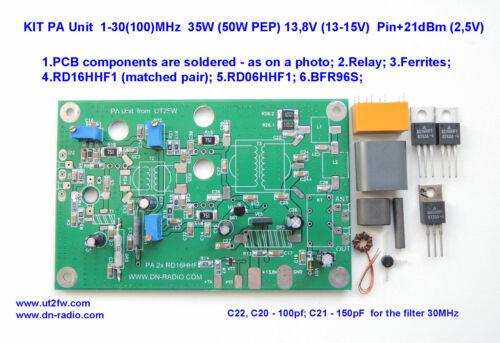 RD16HHF1 pair of matched Original Mitsubishi MOSFET Transistor amplificator