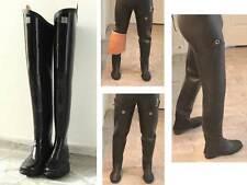 Kohshin Gummi-Watstiefel Japan Black All Rubber Hip Waders Boots US10 EU 43 UK 9