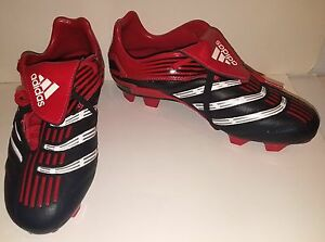 818aeab362dead Adidas Men s Traxion Turn red   black indoor turf soccer cleats 6.5 ...