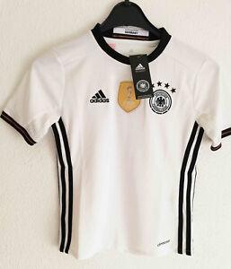 Details zu Original Adidas DFB Deutschland Trikot, Heimtrikot EM 2016, Gr. 152, NEU