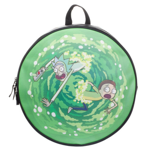 Rick and Morty Portal Circular Backpack by Bio World Merchandising-New!
