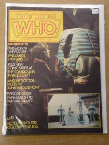 DOCTOR-WHO-59-1981-DEC-BRITISH-WEEKLY-MONTHLY-MAGAZINE-DR-WHO-DALEK-CYBERMEN