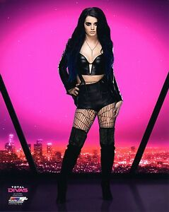 Paige wwe photo wrestling official 8x10 promo nxt ebay - Diva pants ebay ...